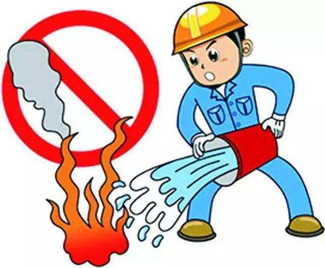 发生火灾时,切记要选择正确的灭火器